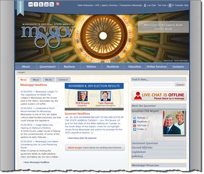 ms.gov | The Official State Website of Mississippi